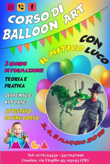 Corso di Balloon Art